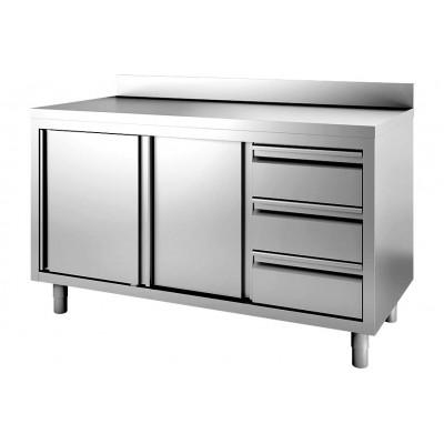 Armadi e tavoli refrigerati a basso consumo energetico