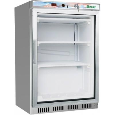Armadio Refrigerato Inox Con Porta In Vetro -18°/-22°C...