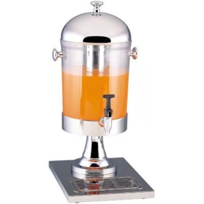 Distributore Inox Con Contenitore Trasparente Lt. 8 DS 10401