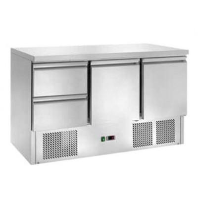 Tavolo Refrigerato Statico con 2 Cassetti Temp. +2° +8°