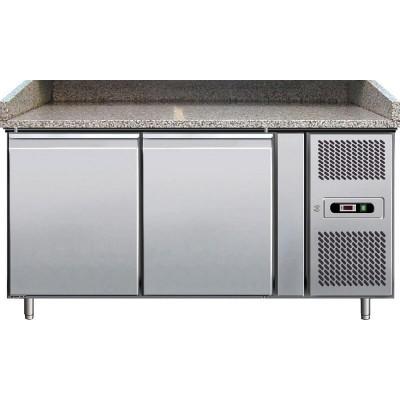 Banco Pizza Refrigerato  2 Porte 60x40