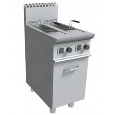 Friggitrice Professionale A Gas 2 Vasche Capacità 8+8