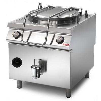 Pentola a gas riscaldamento diretto capacità 150 lt....