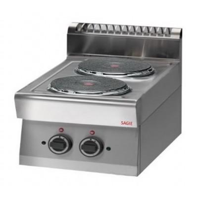 Cucina Elettrica Professionale 2 Piastre, Potenza totale...