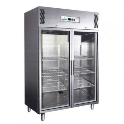 Armadio Refrigerato Ventilato GN1410TNG 2 Porte In Vetro...