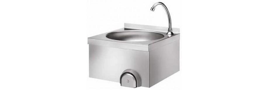 Lavamani in acciaio inox per cucine professionali